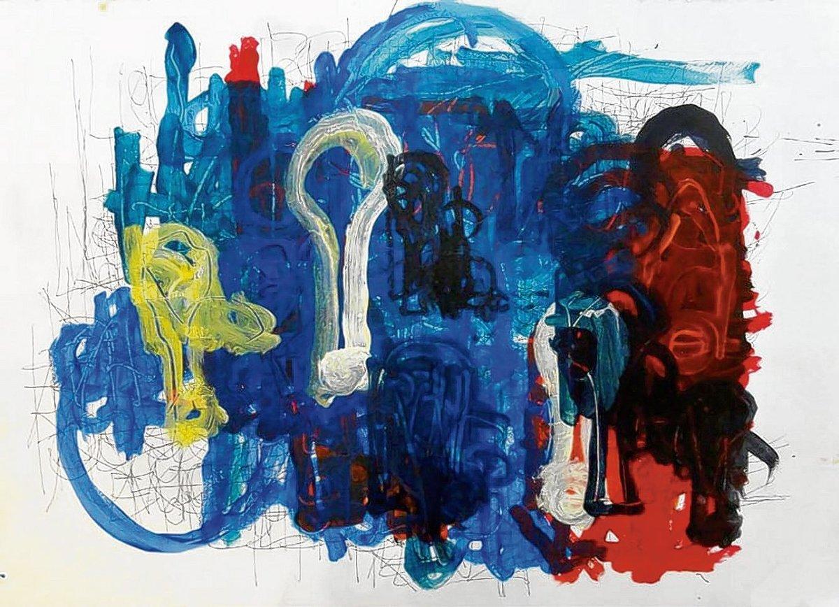 Ausstellung Von Creative Growth In Galerie Art Cru Mitte