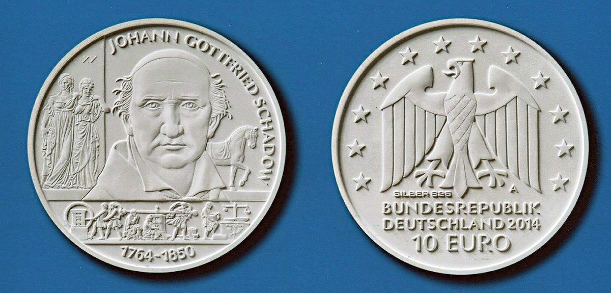 Neue Zehn Euro Münze Würdigt Den Berliner Bildhauer Mitte