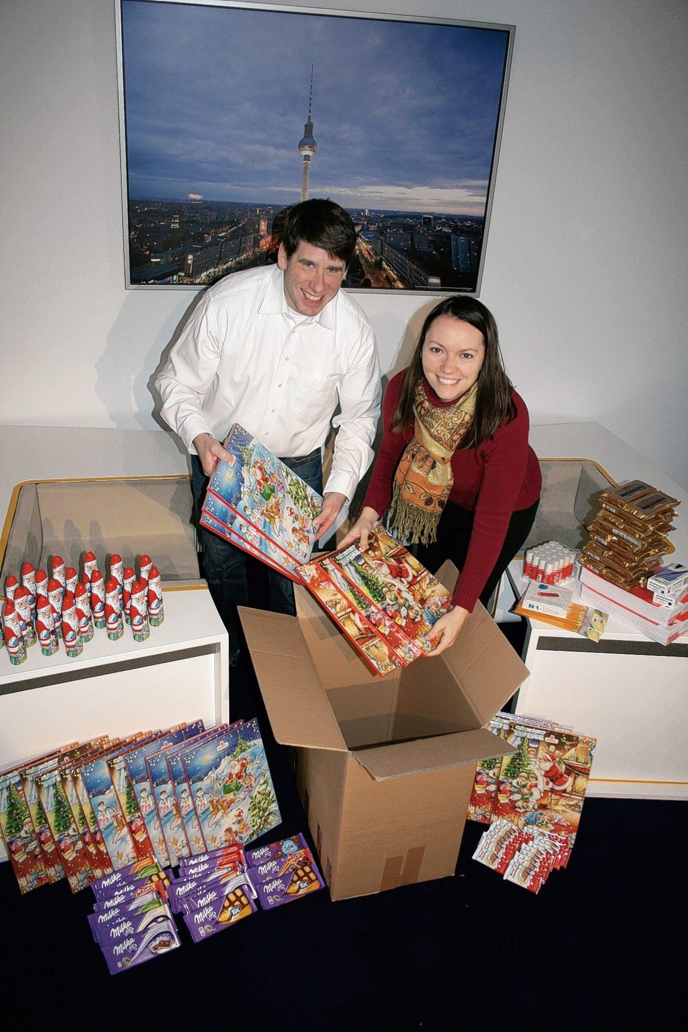 Weihnachtspakete für polnische Heimkinder - Reinickendorf