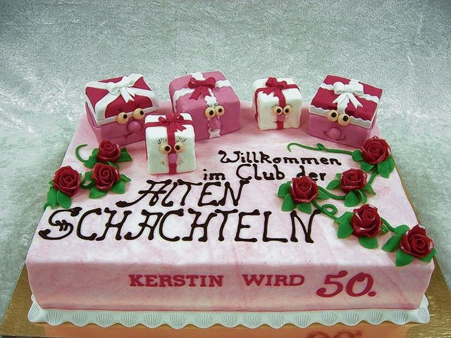 torte 50 geburtstag