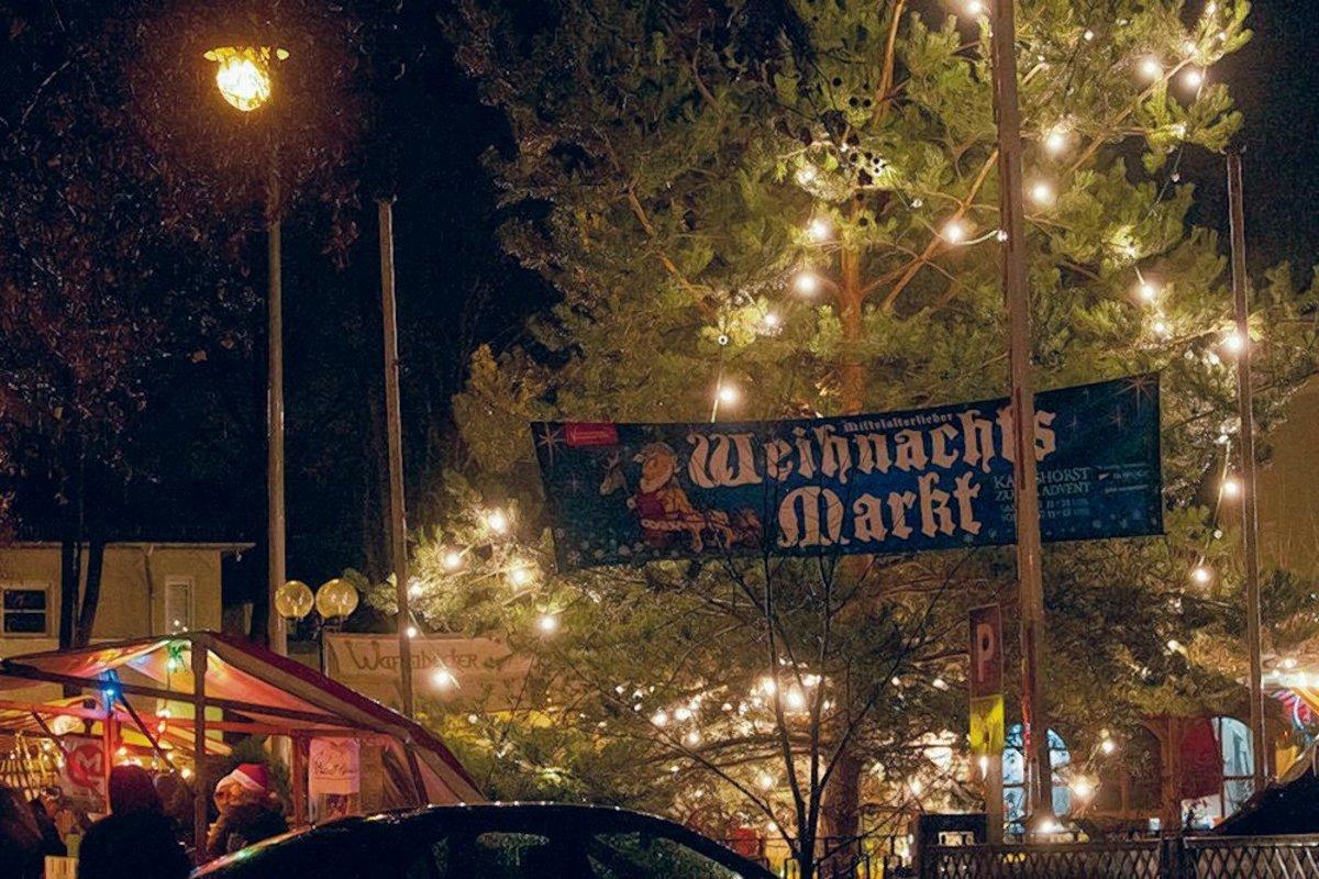 Weihnachtsmarkt Karlshorst.Spendenaktion Auf Dem Mittelalter Weihnachtsmarkt Karlshorst
