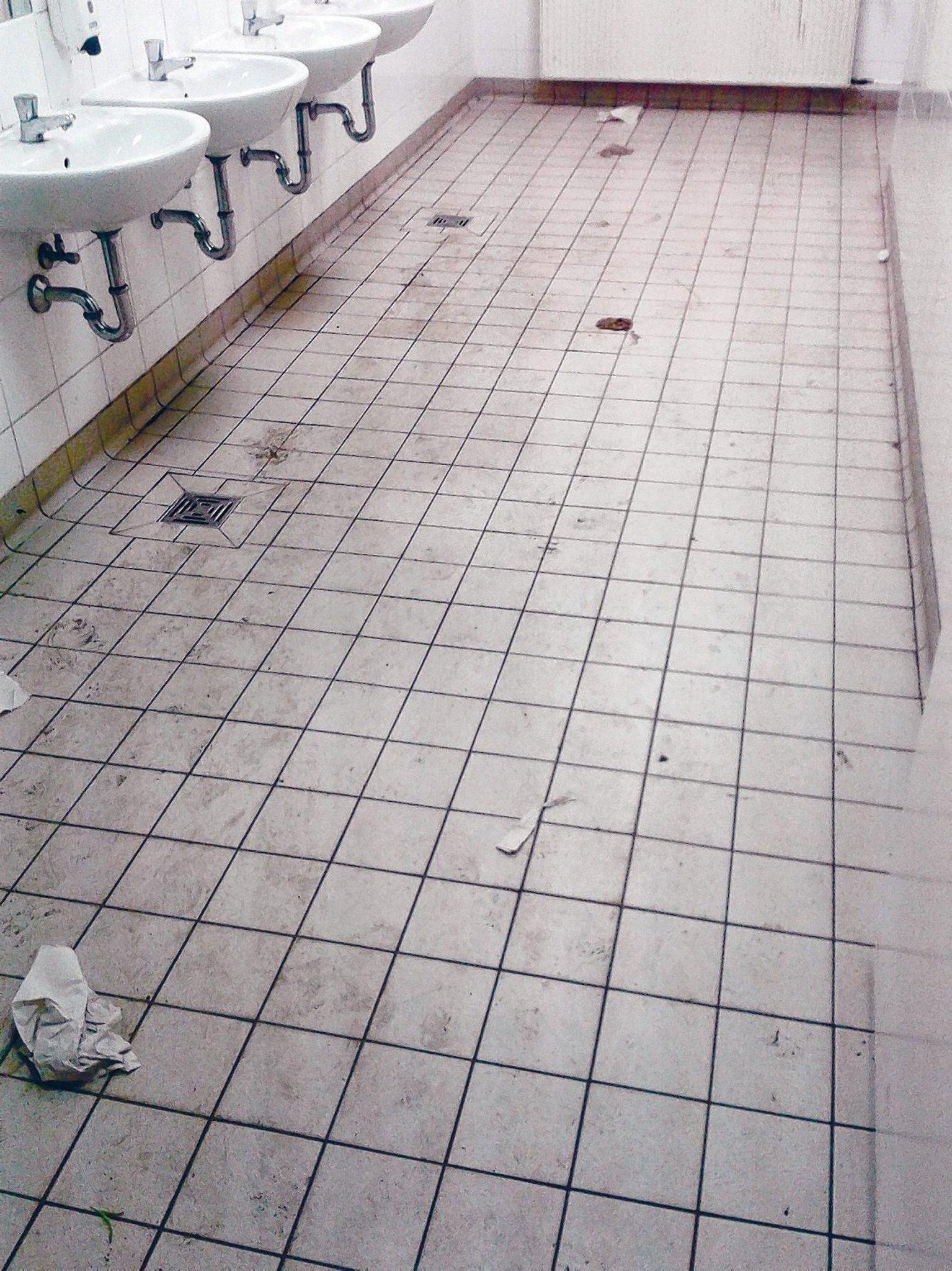 Probleme mit der Reinigung gibt es an vielen Schulen - Friedrichshain
