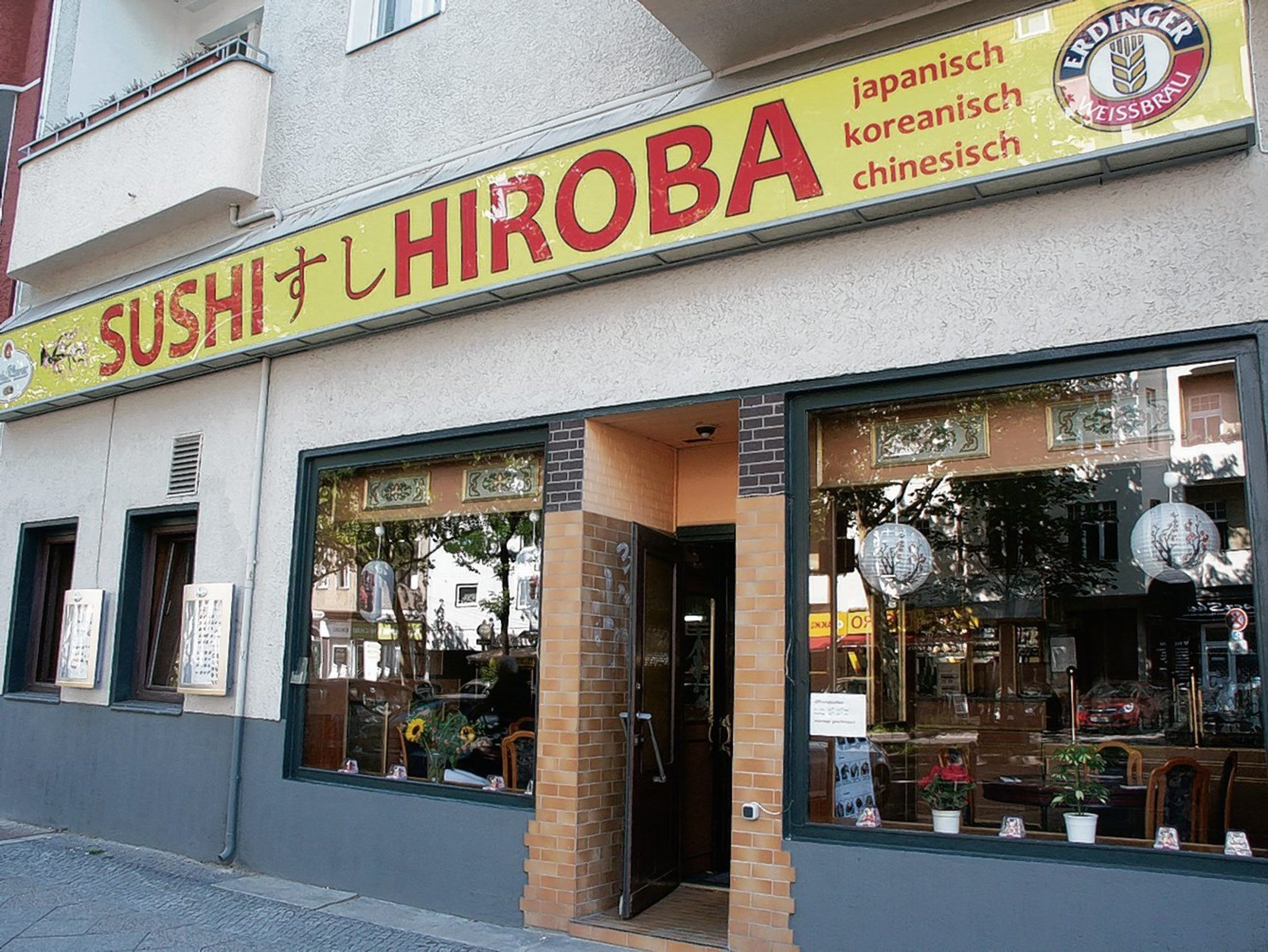 willkommen im sushi hiroba friedenau. Black Bedroom Furniture Sets. Home Design Ideas