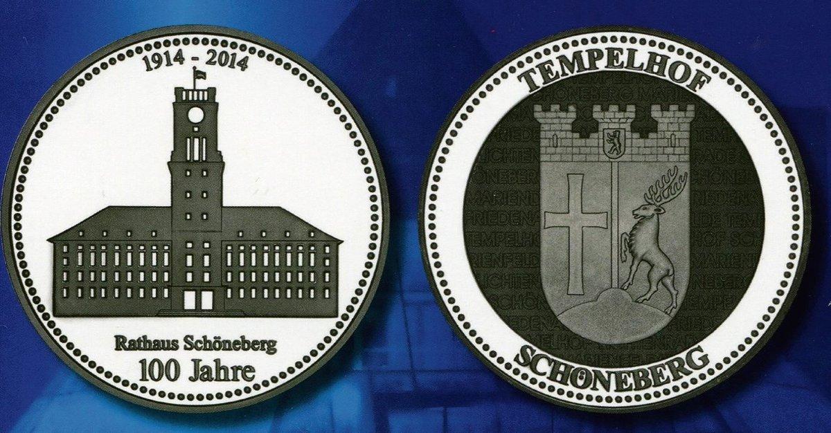 Staatliche Münze Berlin Würdigt 100 Geburtstag Schöneberg