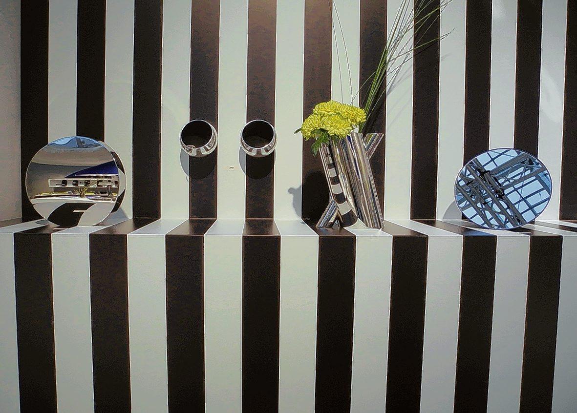 schwarz wei e wohnwelten statt dezentem grau mitte. Black Bedroom Furniture Sets. Home Design Ideas