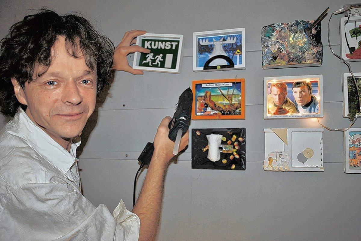 Wolfgang Leonhardt organisiert die gleiche Aktion schon das zweite Mal.