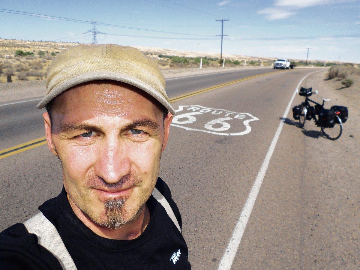Im vergangenen Jahr fuhr Sven Marx auf der Route 66 durch die USA.