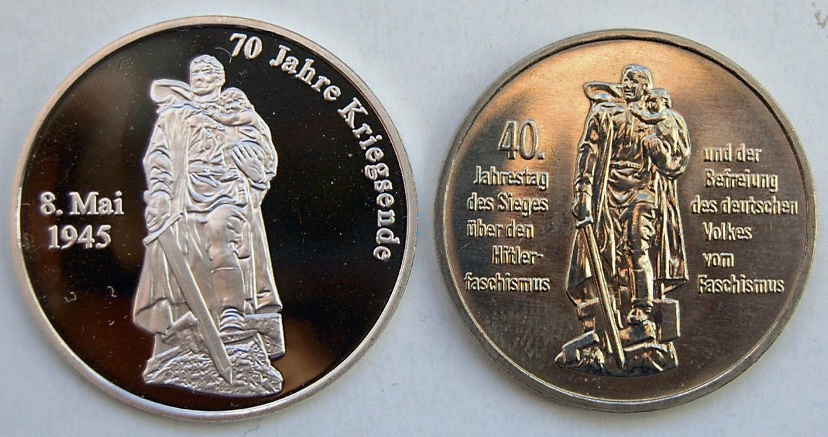 Münze Berlin Prägt Medaille Zum Jahrestag Des Kriegsendes Borsigwalde