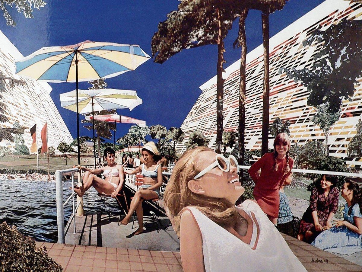 urlaub beleuchtung ideen architektur led lampe berlinische galerie eröffnet mit ausstellung über 60erjahrearchitektur 60erjahre
