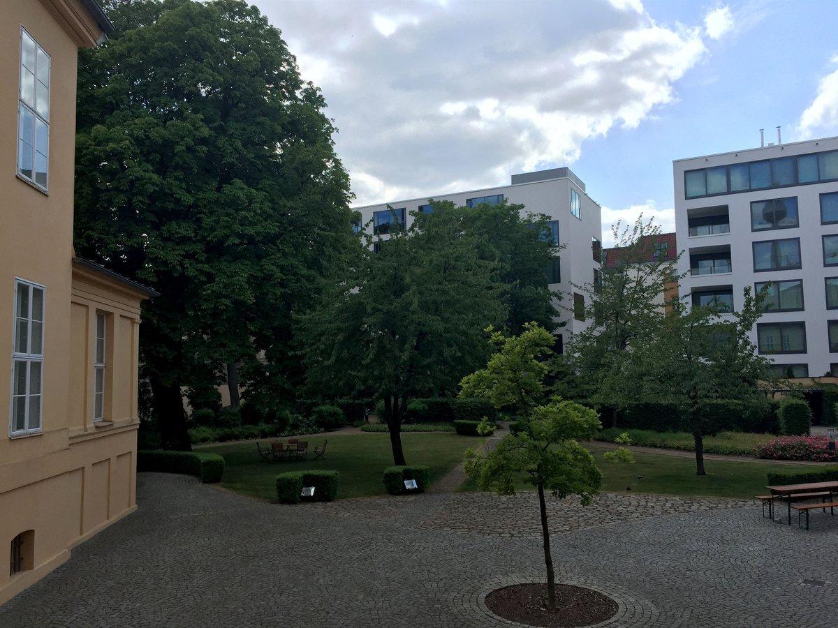 Im Garten des Mahnus-hauses will Siemens einen Neubau als Konzernrepräsentanz errichten.