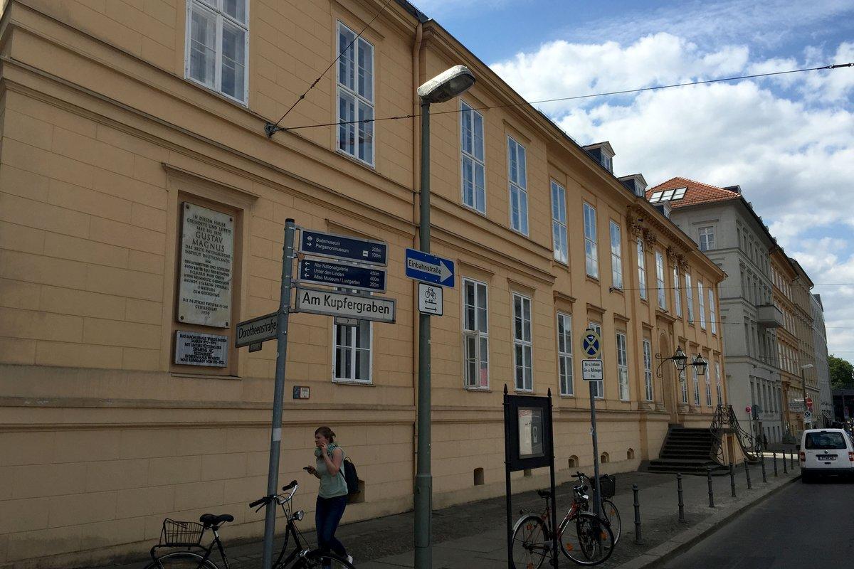 Das denkmalgeschützte Magnus-Haus Am Kupfergraben 7.