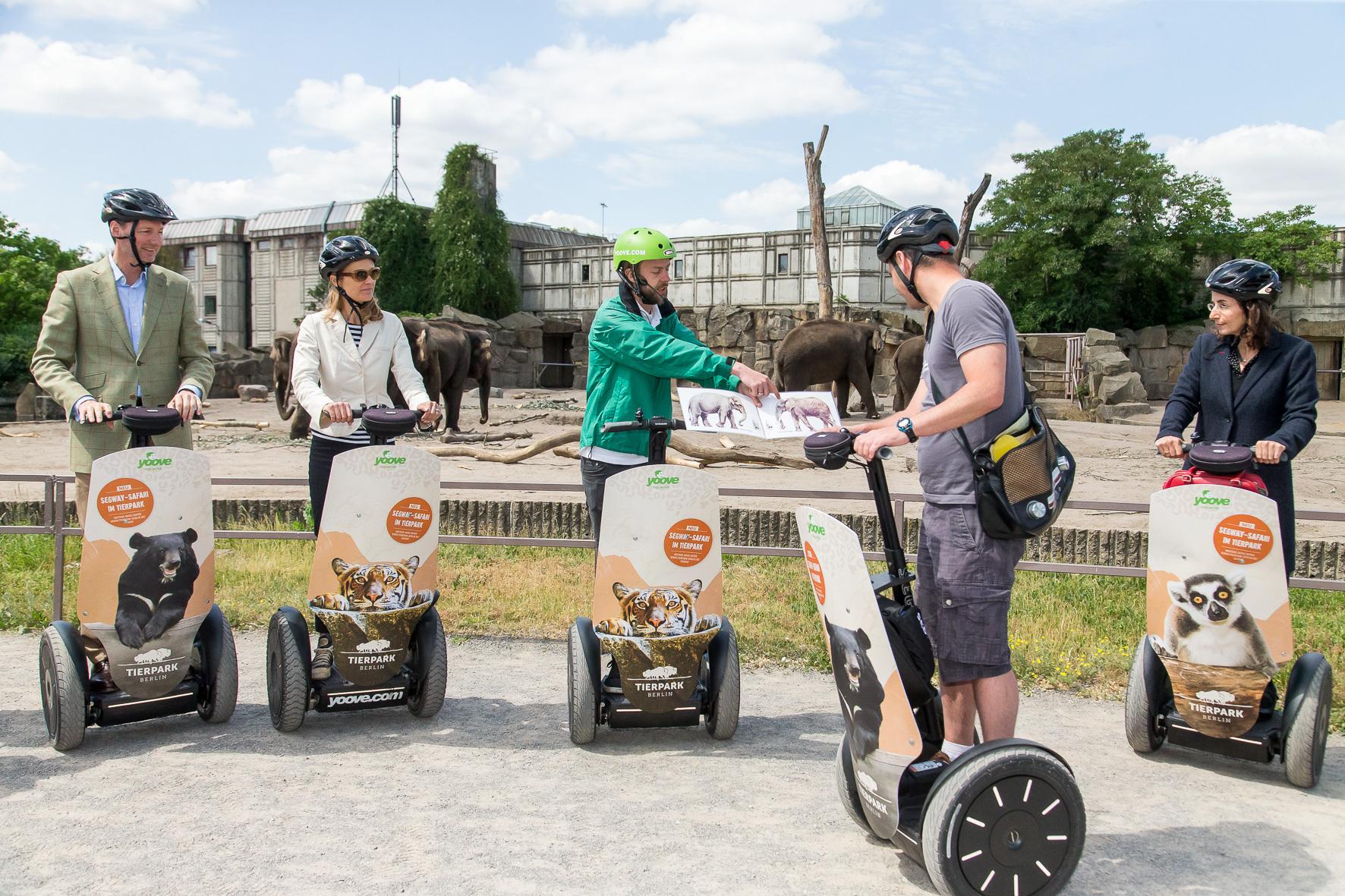 tierpark bietet gef hrte segway touren an friedrichsfelde. Black Bedroom Furniture Sets. Home Design Ideas