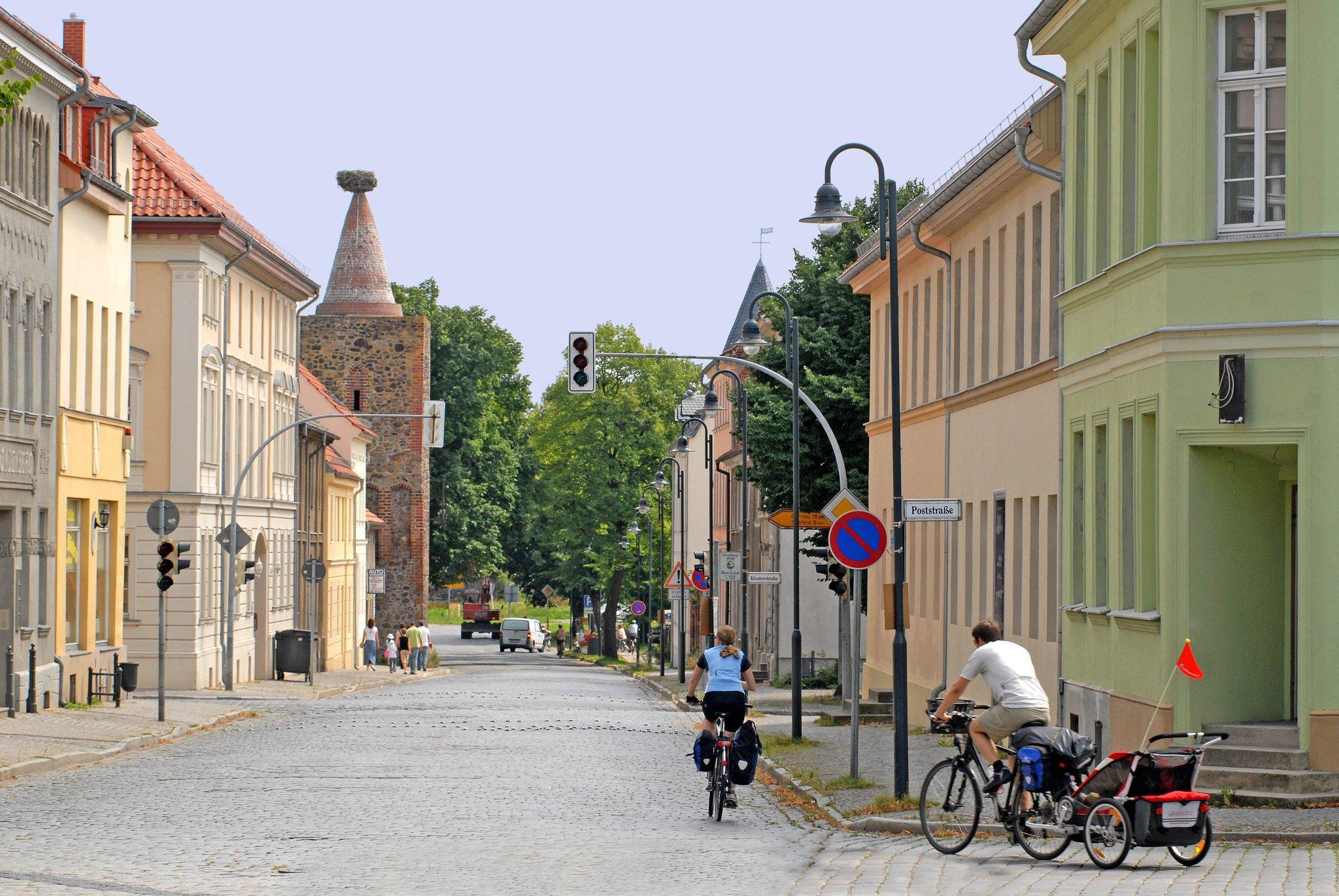 Radtour Mit Dem Fahrrad Von Ahrensfelde Nach Altlandsberg Mitte