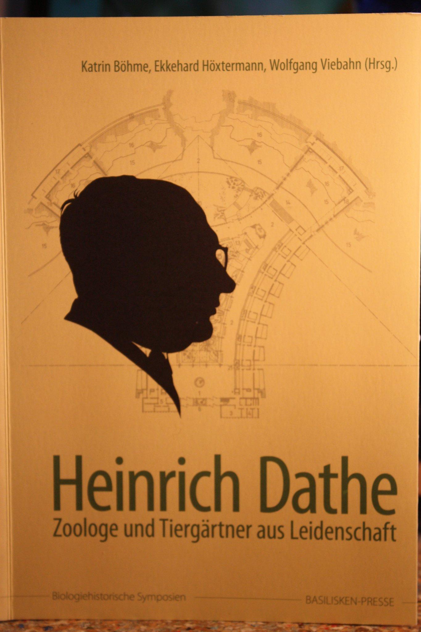 Buch über Tierparkgründer Heinrich Dathe Erschienen Friedrichsfelde
