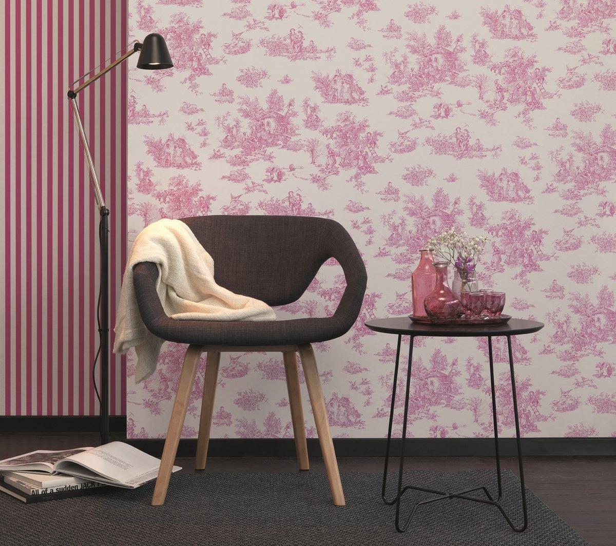 Richtig Kombinieren Tapeten Mix Mit Gleichen Farben Mitte