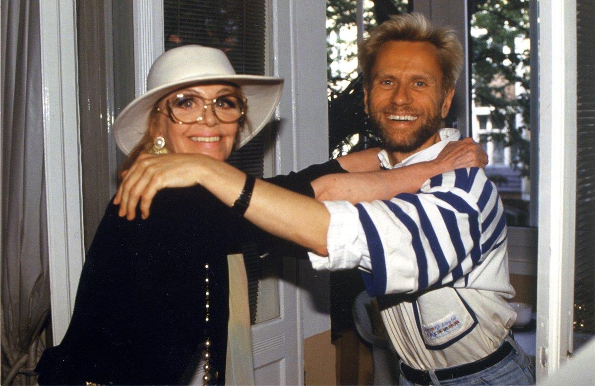 Hildegard Knef und René Koch verband eine jahrelange Freundschaft.