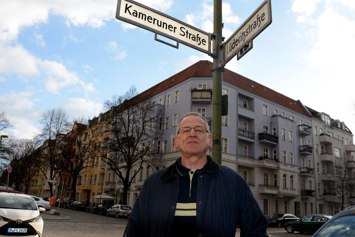 Johann Ganz will die Lüderitzstraße behalten und hat dazu einen Vorschlag.
