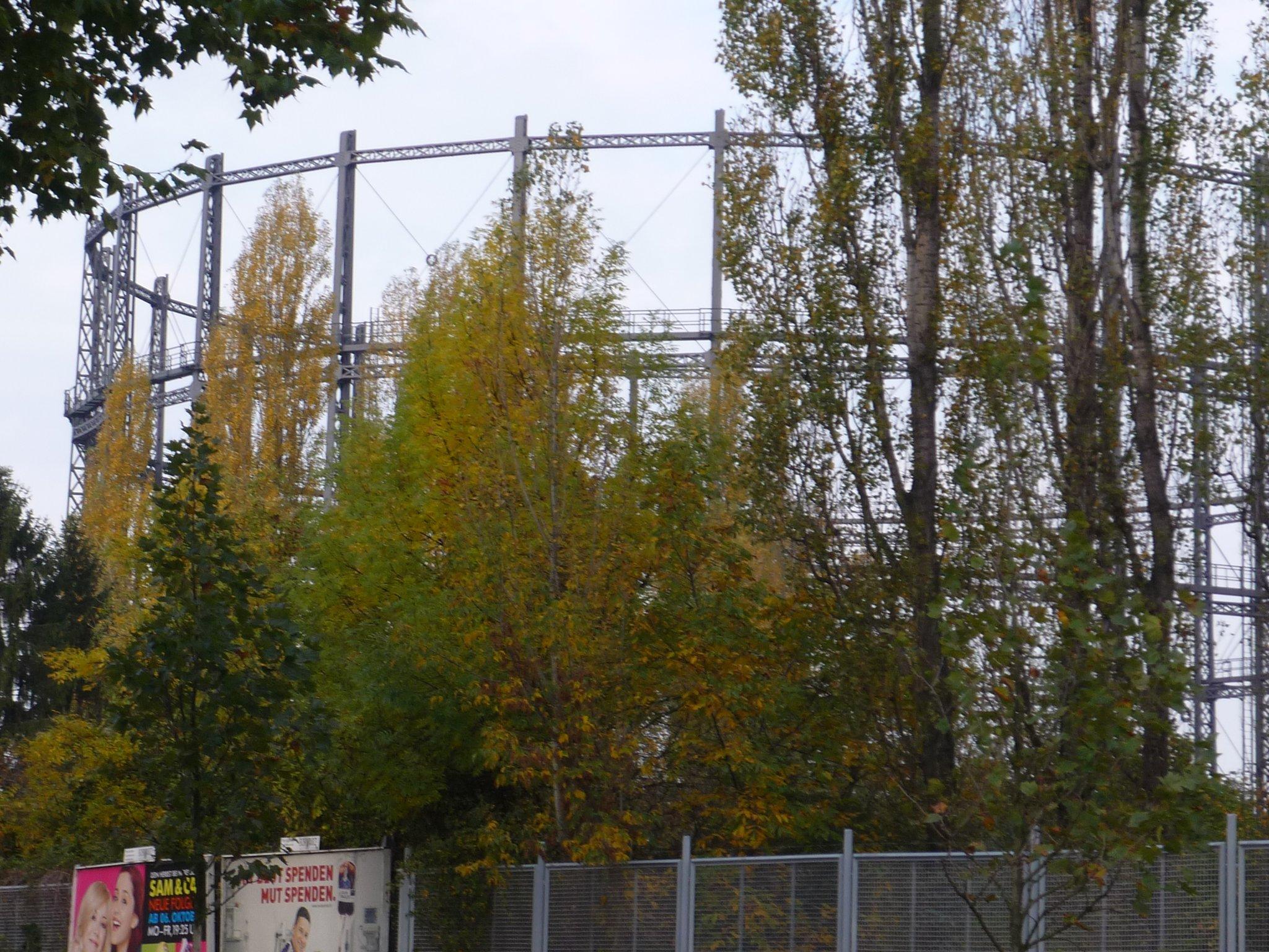 Vom Stillgelegten Gaswerk Zum Mariendorfer Gewerbepark Mariendorf