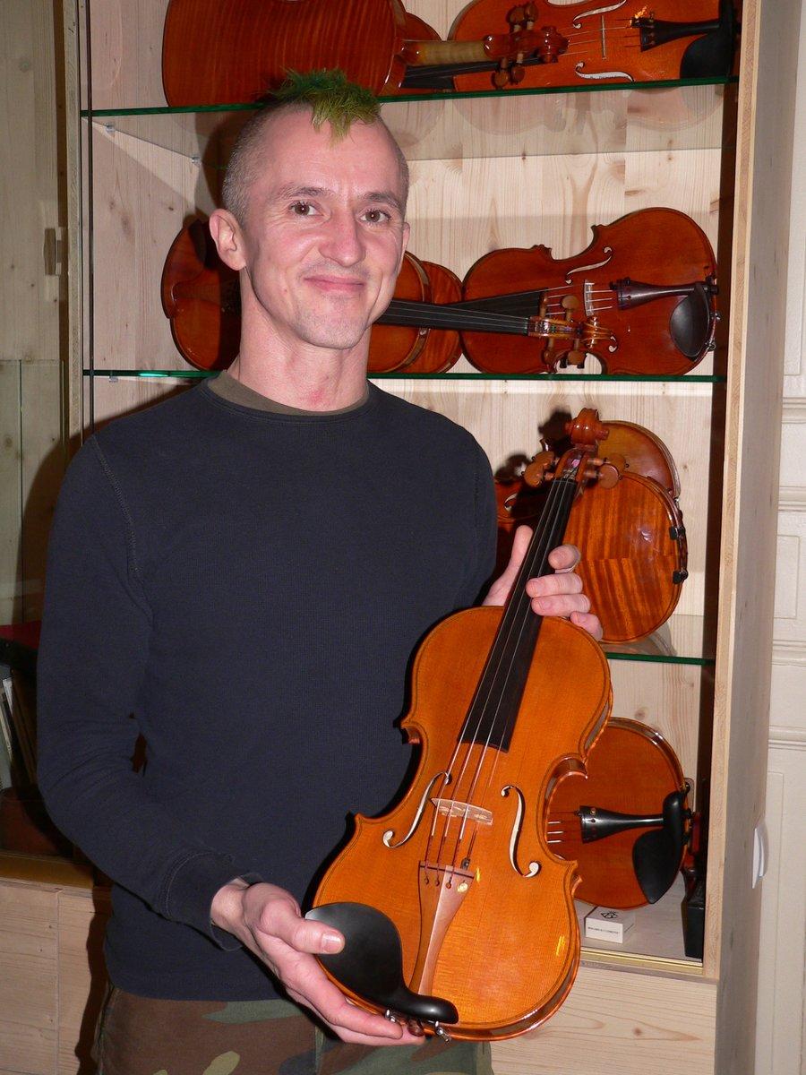 Ein Leben (nicht nur) mit Geigen.