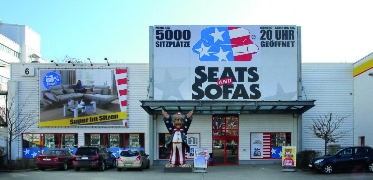 Seats and Sofas bietet über 5000 Sitzplätze - Marzahn