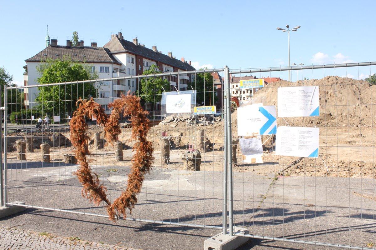 Wohnungsbauvorhaben Auf Dem Pistoriusplatz Emport Anwohner Weissensee