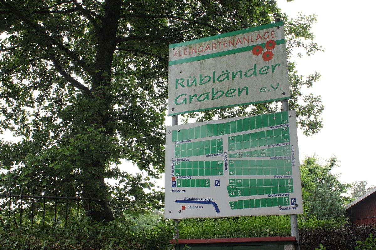 Zum Tag des offenen Kleingartens können auch Gärten in der Kleingartenanlage Rübländer Graben unweit des S-Bahnhofs Karow besichtigt werden.