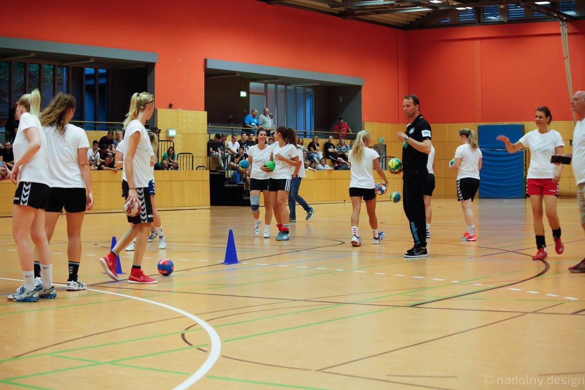 Training mit Bundestrainer Dagur Sigurdsson