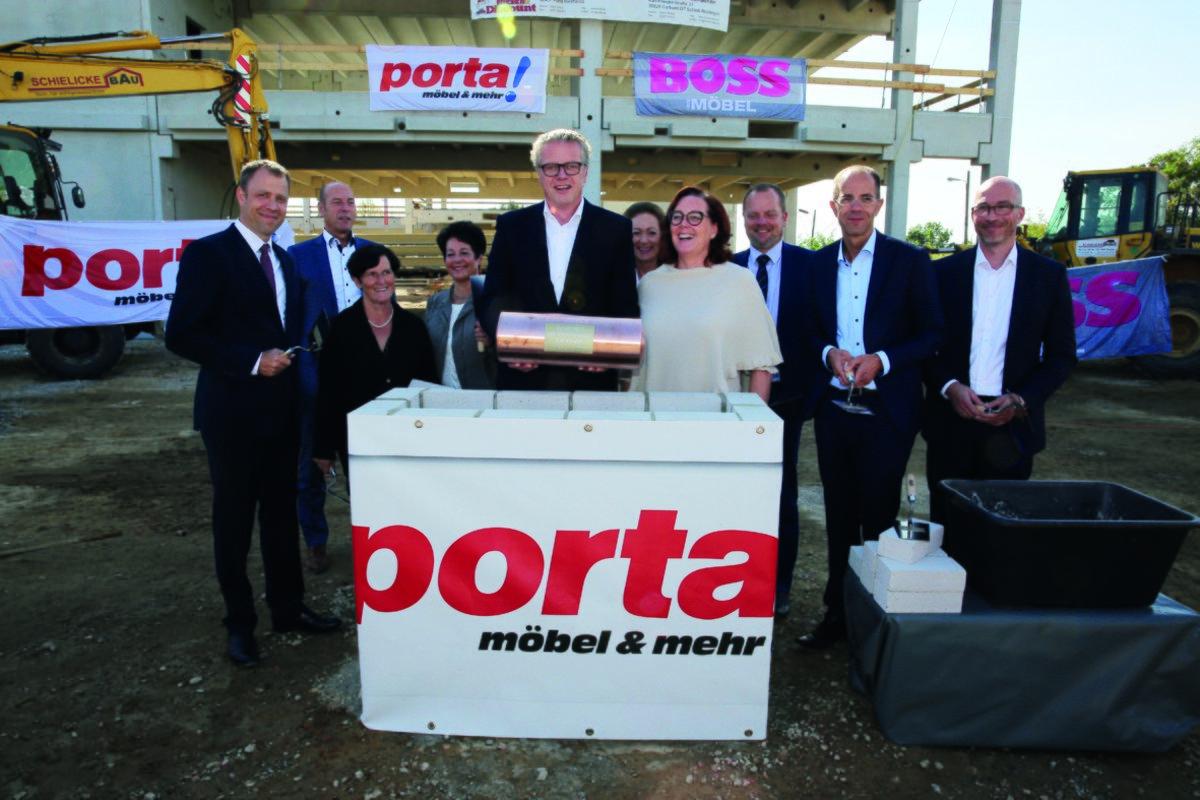 Porta Eröffnet Im Frühjahr 2017 Grundsteinlegung Für Das 23