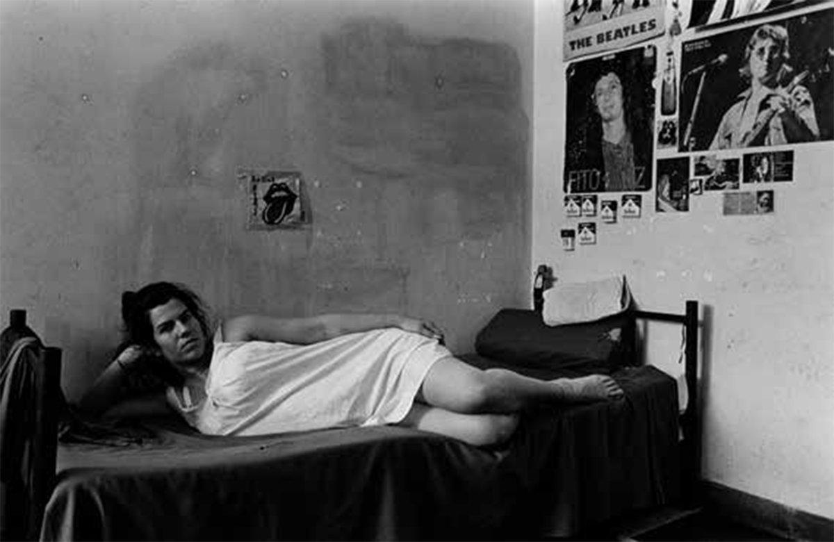 """Foto aus den Serien """"Gefangene Frauen"""" aus den Jahren 1991 bis 1993."""