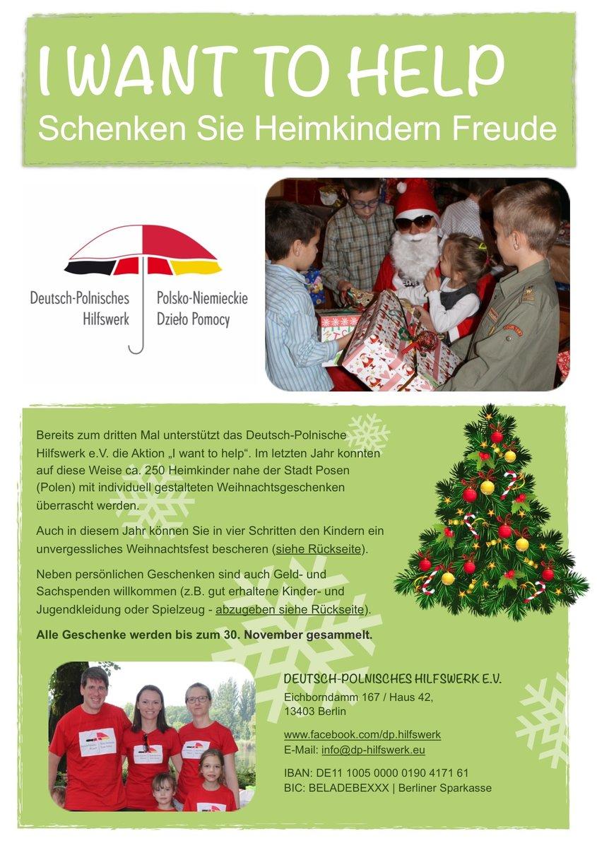"""Bild 2 aus Beitrag: Weihnachtsaktion """"I want to help\"""