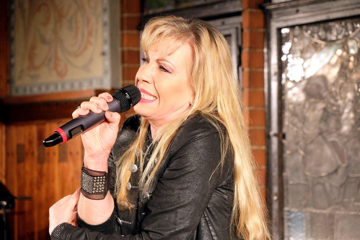 Die ostdeutsche Rocklegende Petra Zieger sorgte für Unterhaltung.