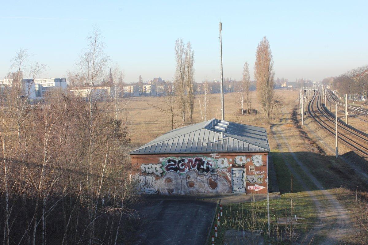 Das ehemalige Güterbahnhofsgelände ist die größte Brache in Pankow.
