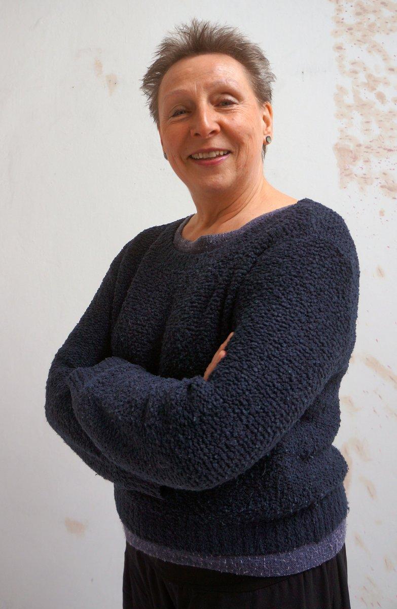 """""""Frei soll meine Kunst bleiben"""": Regina Liedtke in ihrem Atelier in der Hochkirchstraße."""