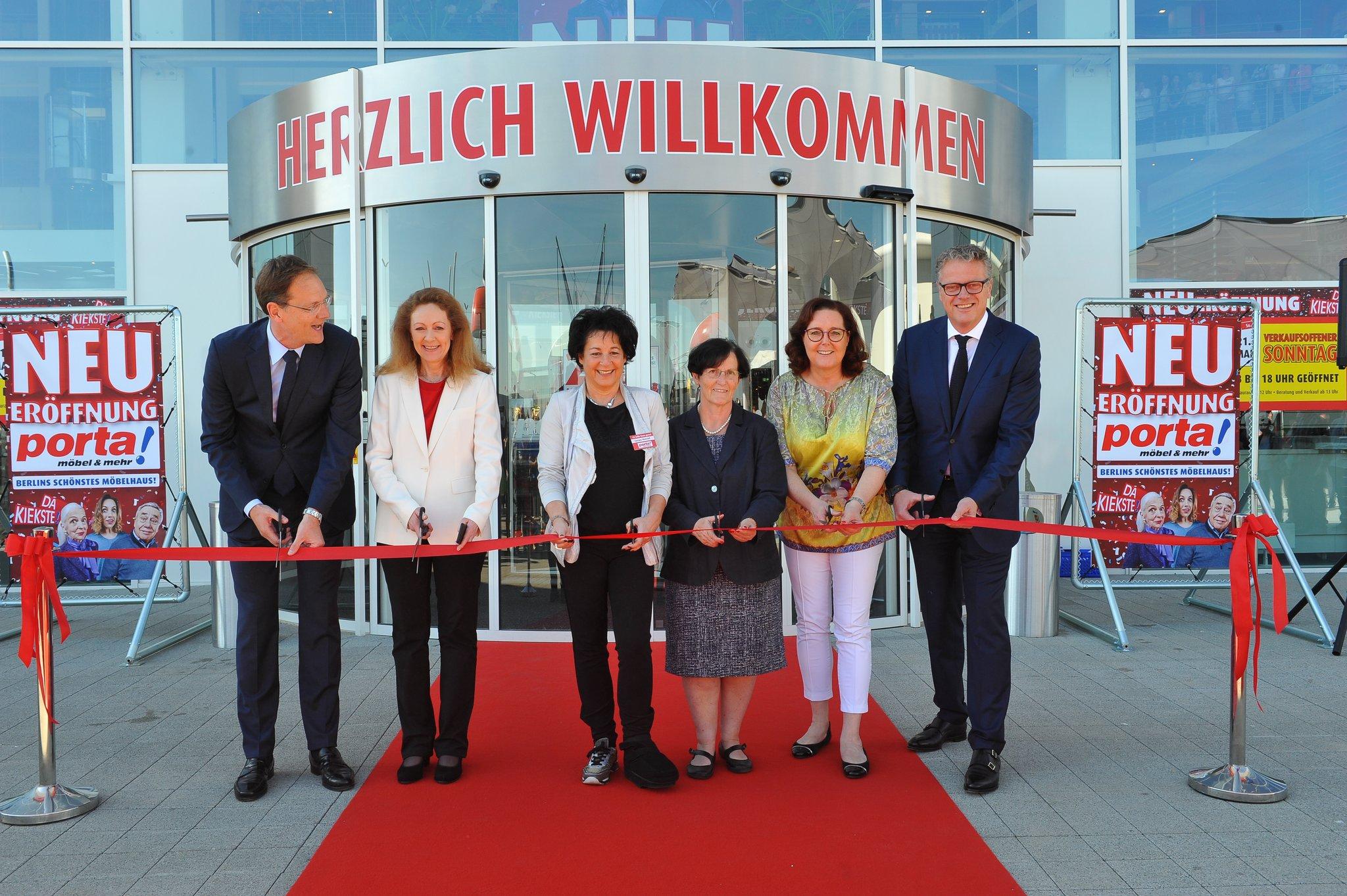 Porta Möbel Eröffnet Einrichtungszentrum Auf Weltstadt Niveau