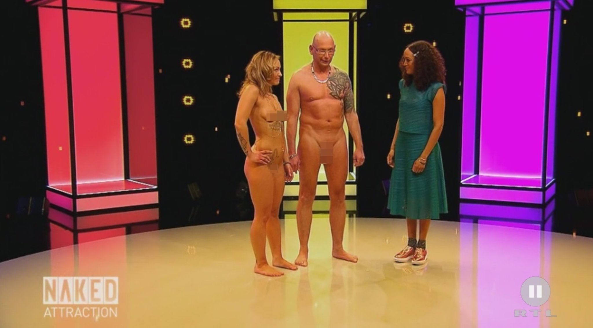 Attraction frauen nackt naked German nude,