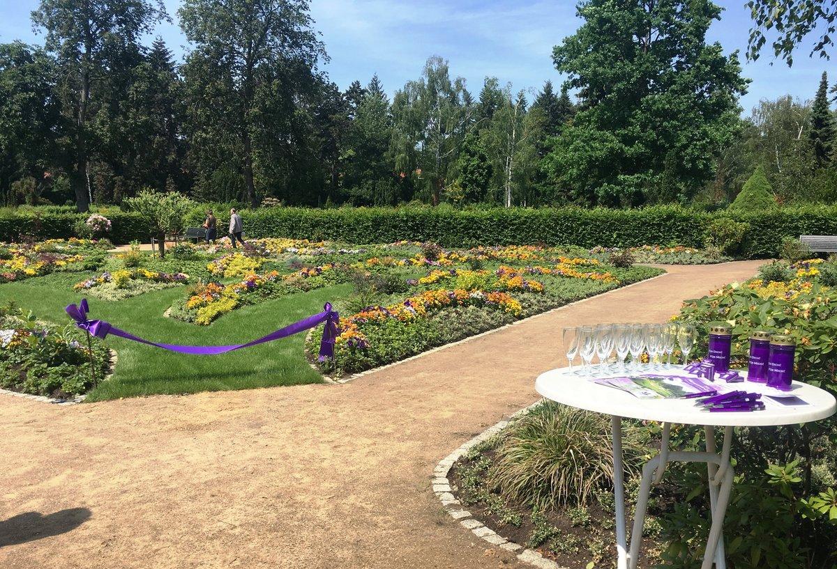 Der neue Memoriam-Garten auf dem Friedhof Zehlendorf.