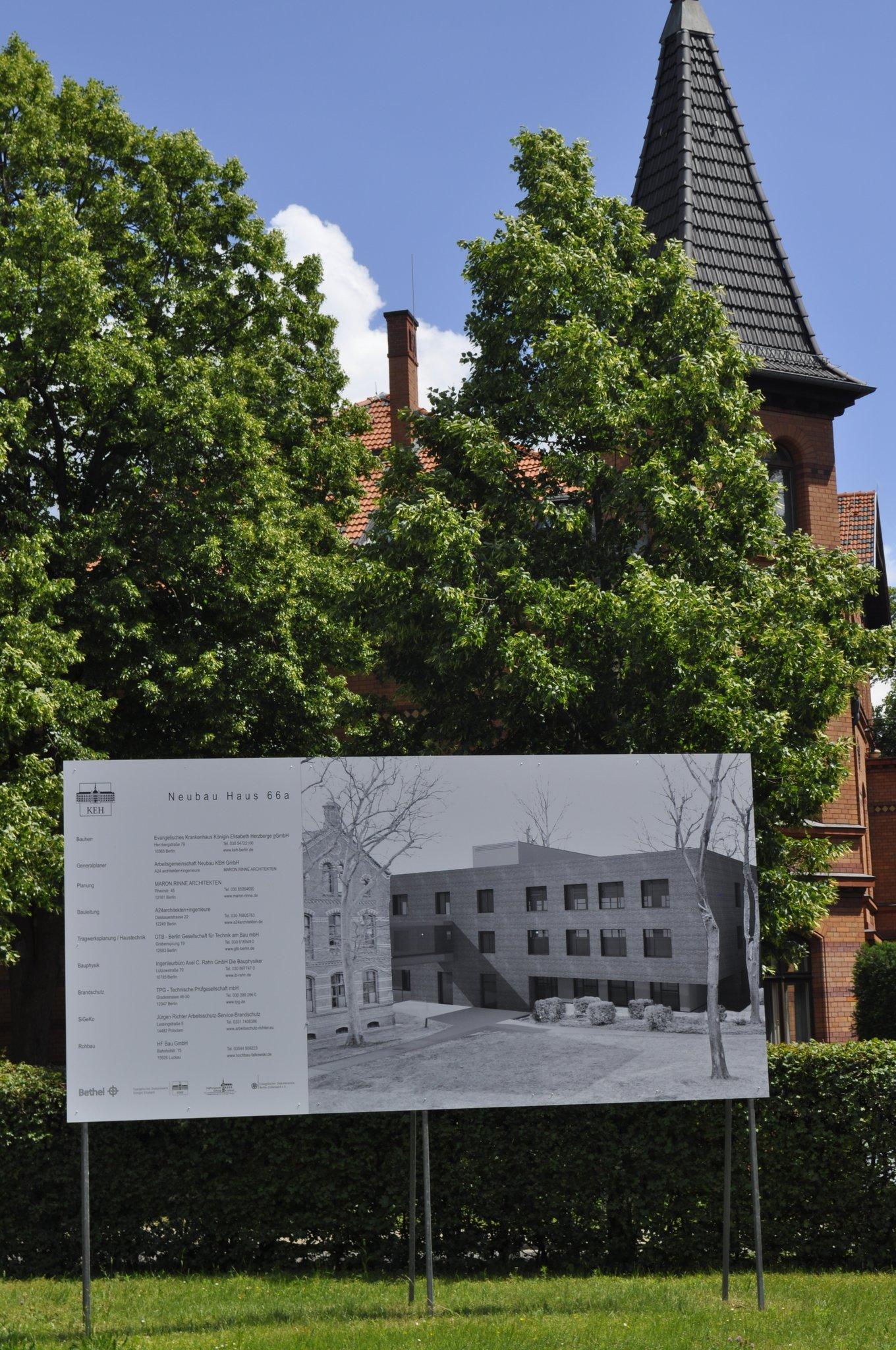 Neues Haus Im Nächsten Jahr Fertig Krankenhaus Königin Elisabeth