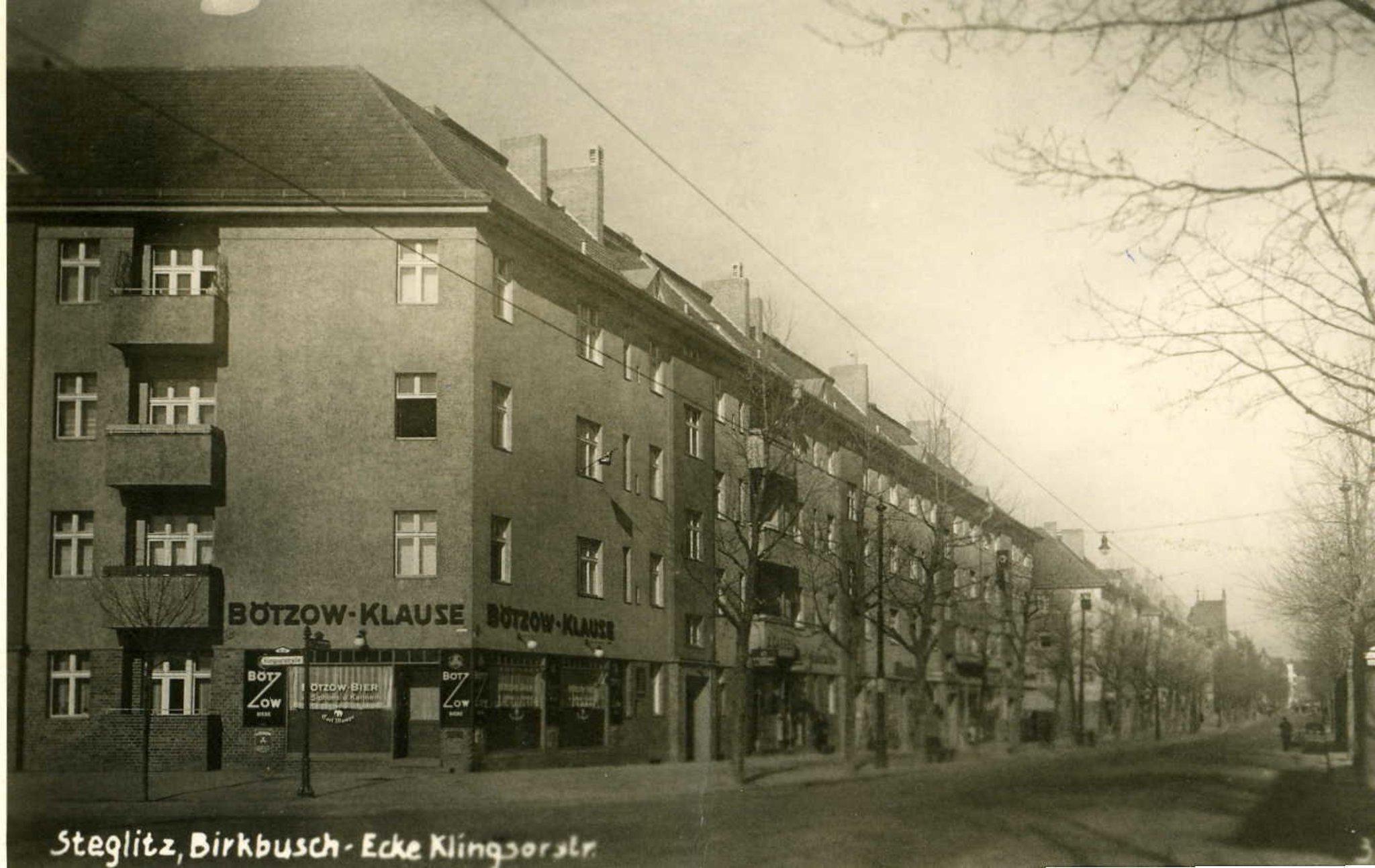 Die Birkbuschstraße War Terroristenstützpunkt Schokoladenfabrik Und
