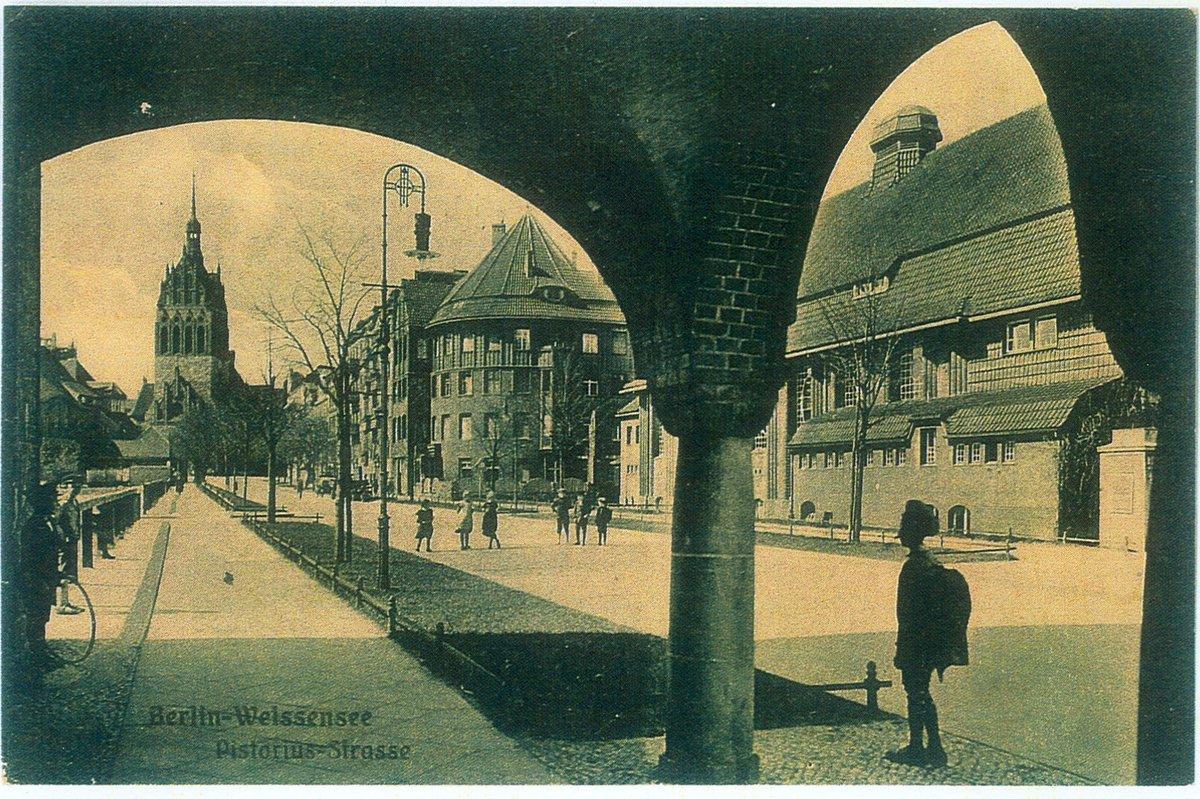 Die Pistoriusstraße Hat Sich Nach Dem Zweiten Weltkrieg Stark