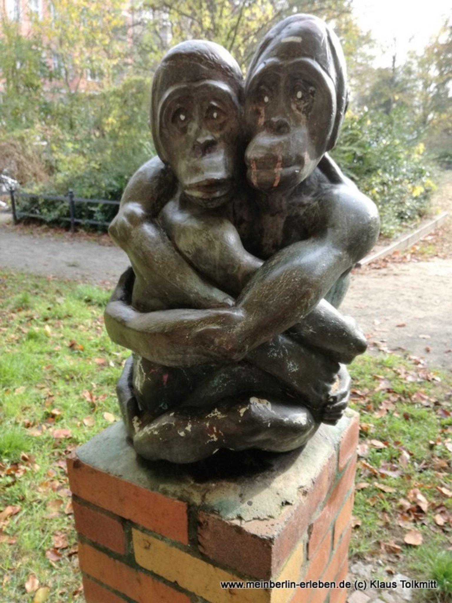 Die Affen Vom Solonplatz Lichtenrade