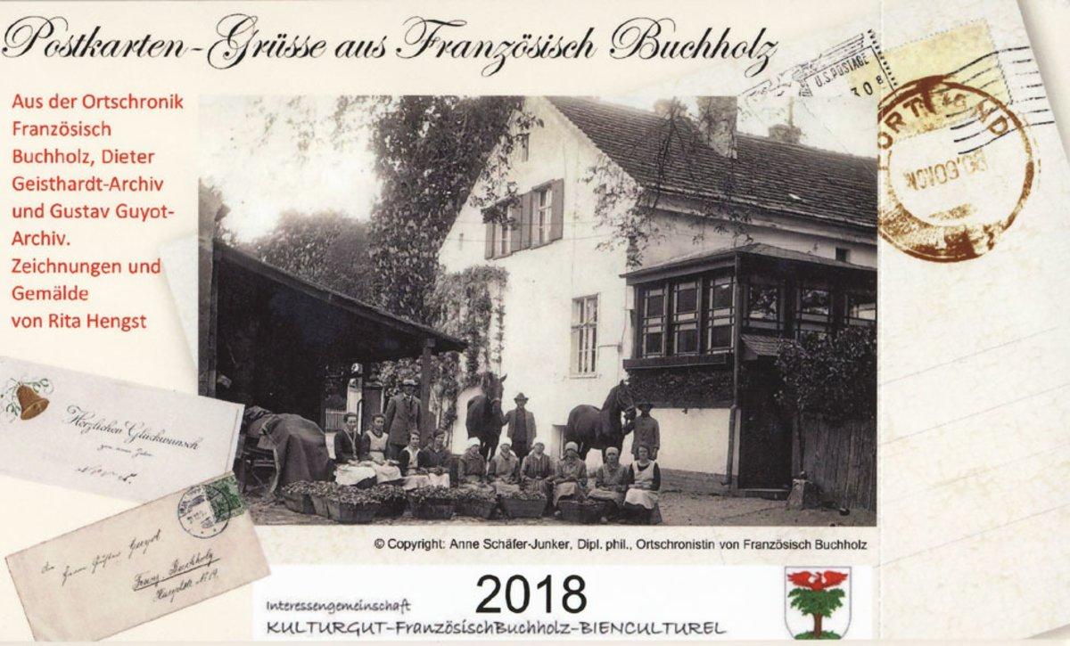 Kalender 2018 Schreib Doch Mal Wieder Postkarten Grüße Aus