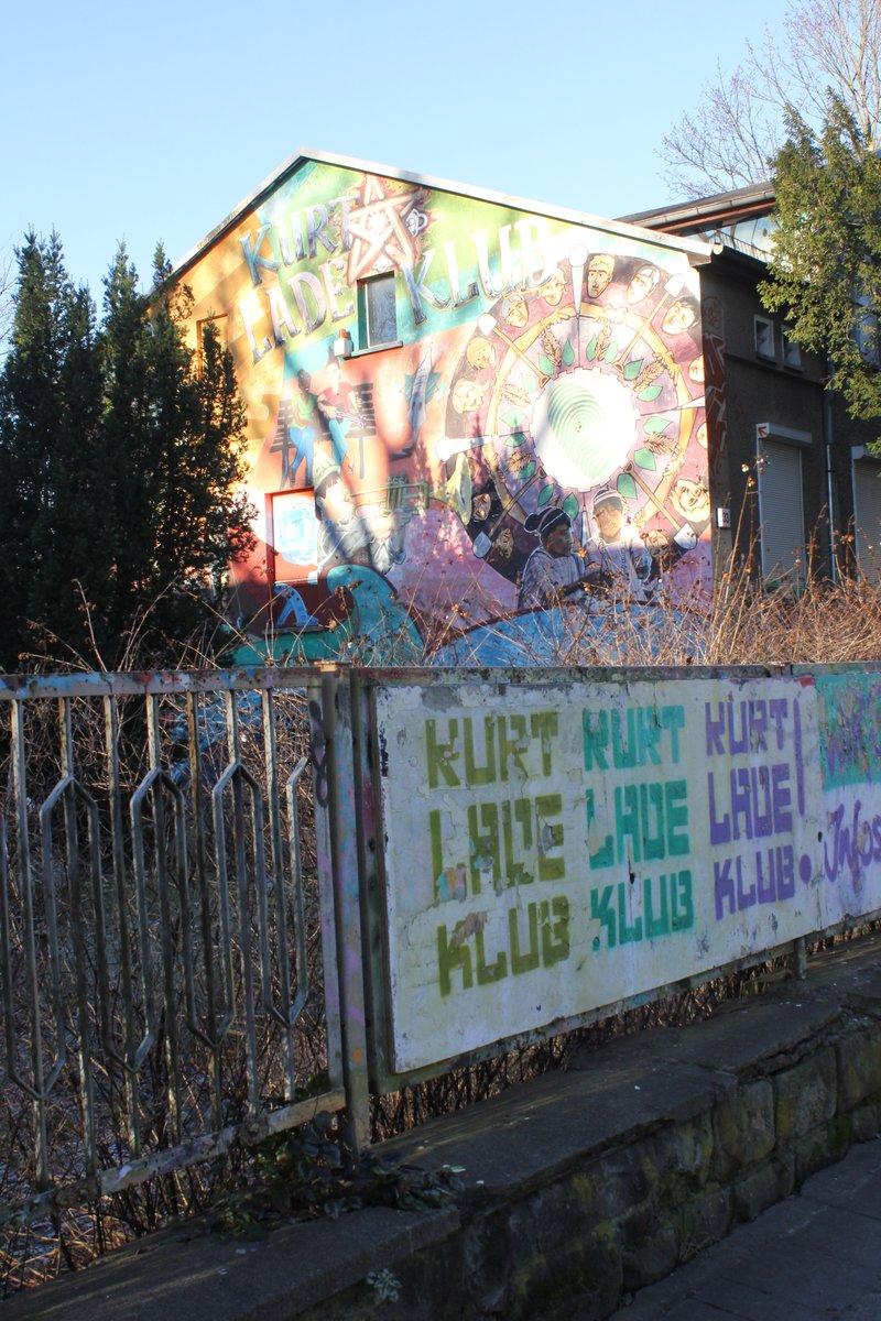 Bild 1 aus Beitrag: Geld weg, Wände beschmiert: In den Kurt-Lade ...