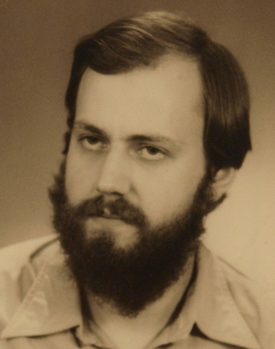 Der Fotograf Ralf Drescher um 1990.