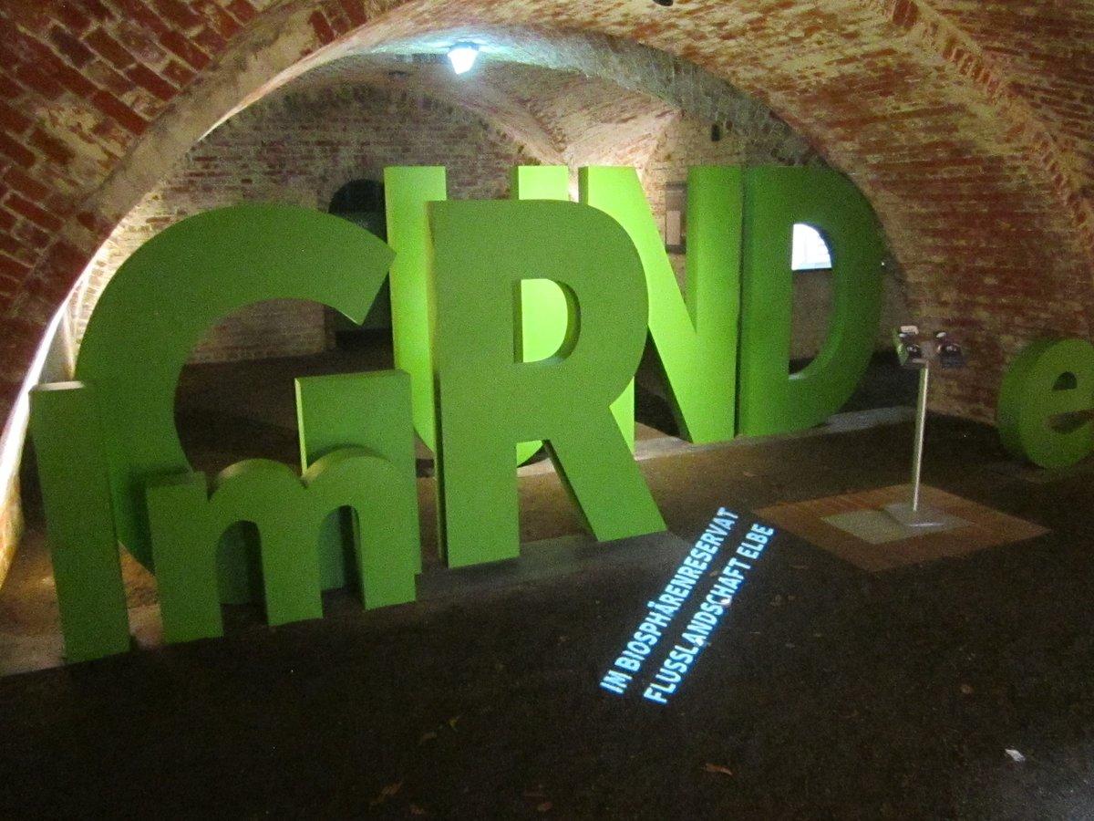 In den Kasematten der Festung setzt sich die interaktive Ausstellung zum Biosphärenreservat in spannenden Installationen fort.
