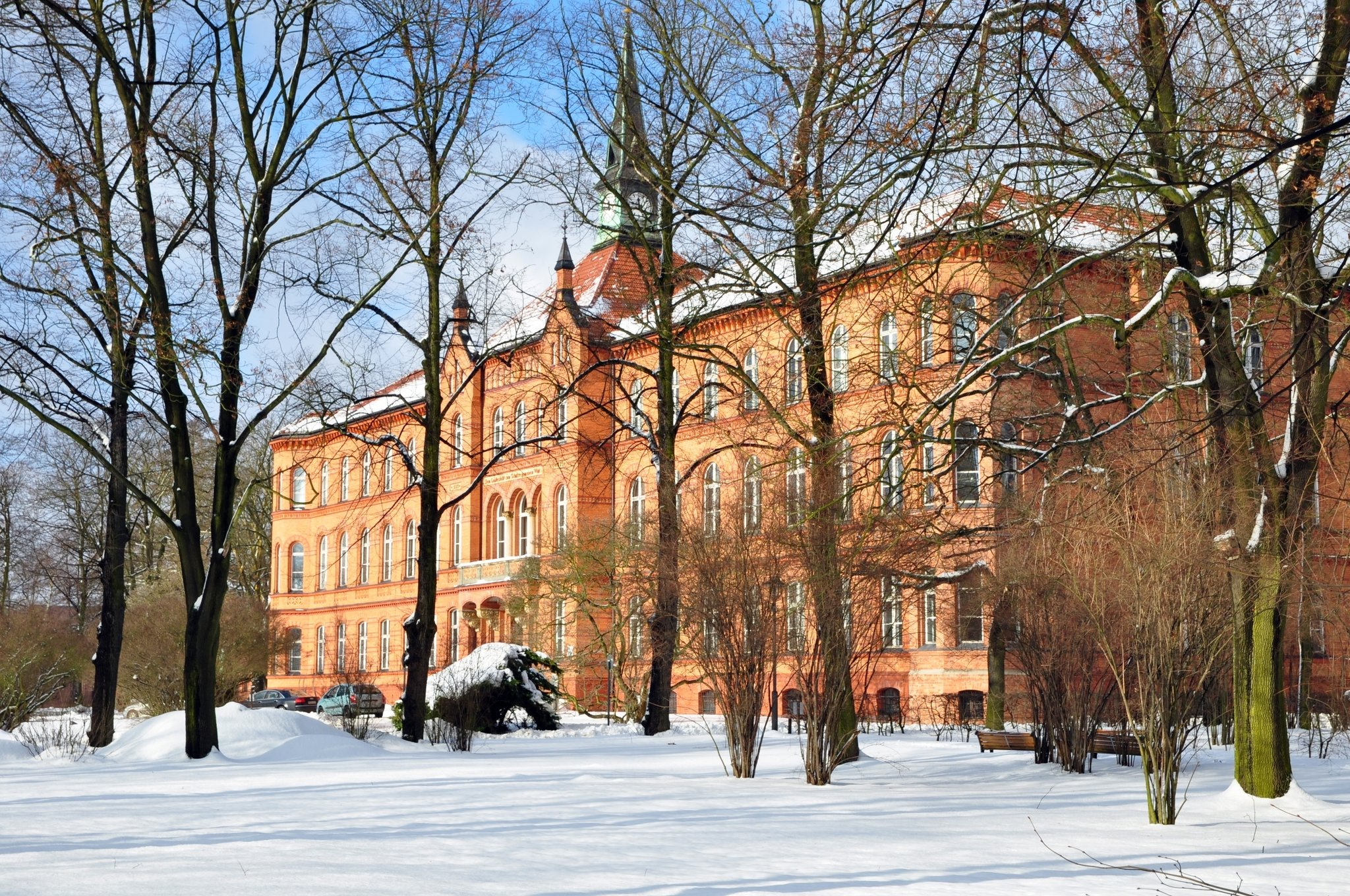 Krankenhaus Königin Elisabeth Herzberge Vom Bezirk Ausgezeichnet