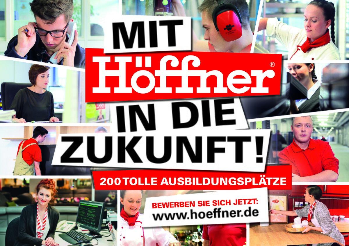 Möbel Höffner Bietet Wieder 200 Ausbildungsplätze In 2018 An
