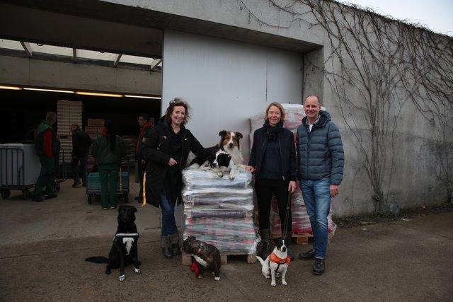 Kostenlose Happen Per App Unkonventionelle Futterspende Furs Tierheim Berlin Falkenberg