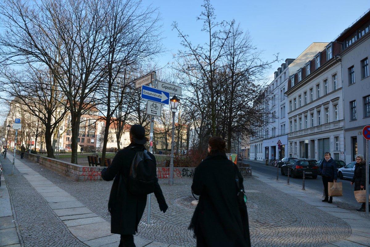 Beliebte Wohngegend Gipsdreieck. Das Quartier liegt mitten im Beobachtungsgebiet Oranienburger Straße in der Spandauer Vorstadt.