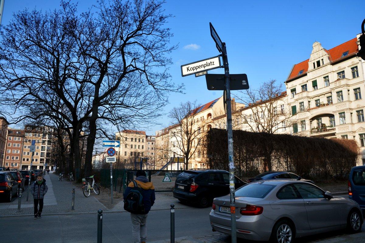 Der Koppenplatz im Beobachtungsgebiet Oranienburger Straße: Wohnen hier nur noch Besserverdiener?