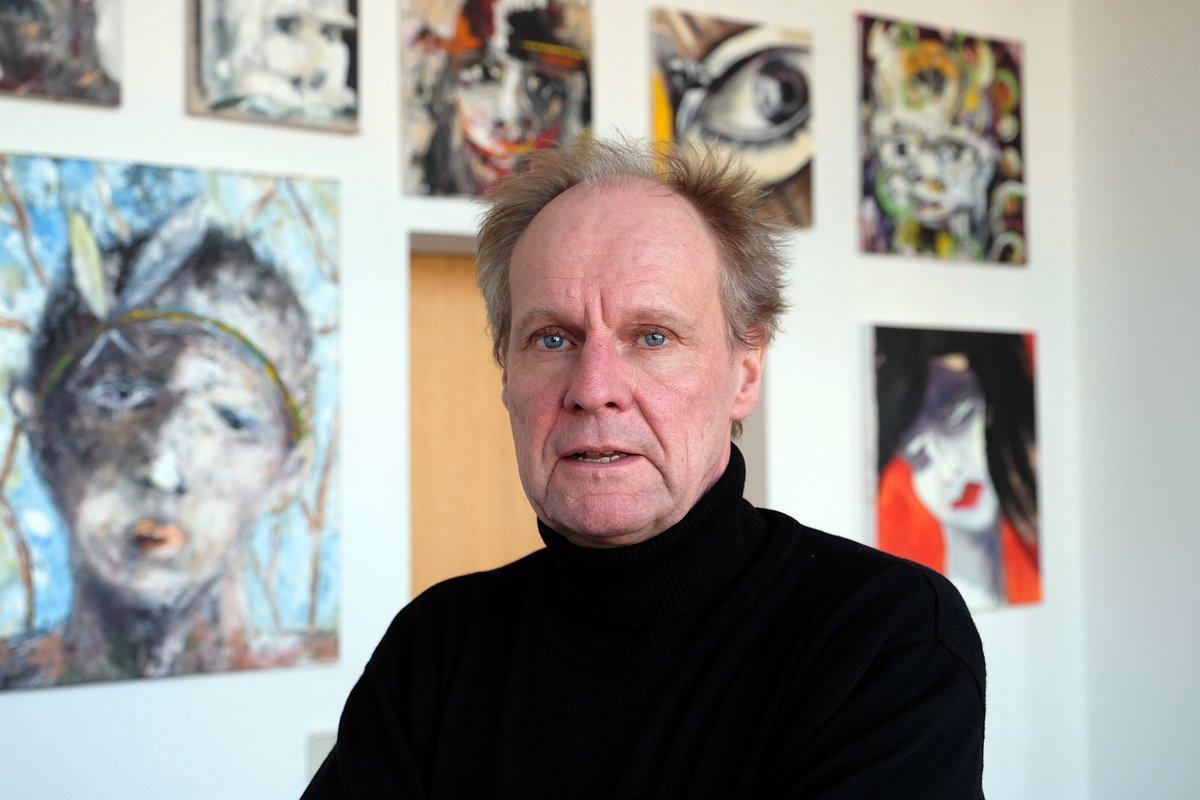 Baselitz Schüler Martin Heinig Malt Seit 1996 In Schöneweide